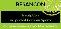 Inscription au portail Campus Sports