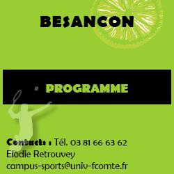 Encart programme Besançon