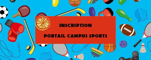 Encart Portail Campus sports