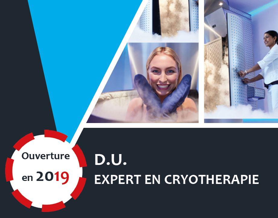 DU Expert en cryothérapie