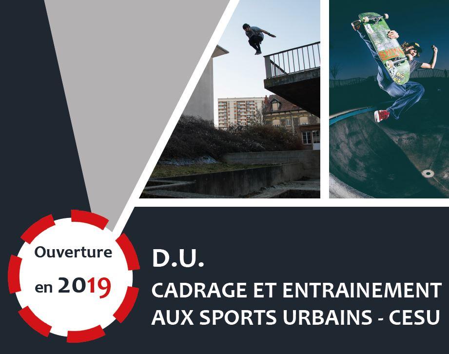 DU Cadrage et entrainement aux sports urbains - CESU