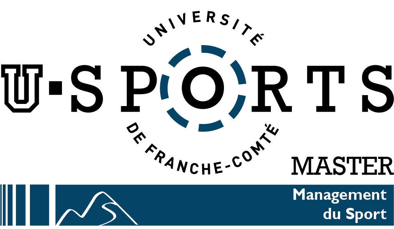 Logo master management du sport